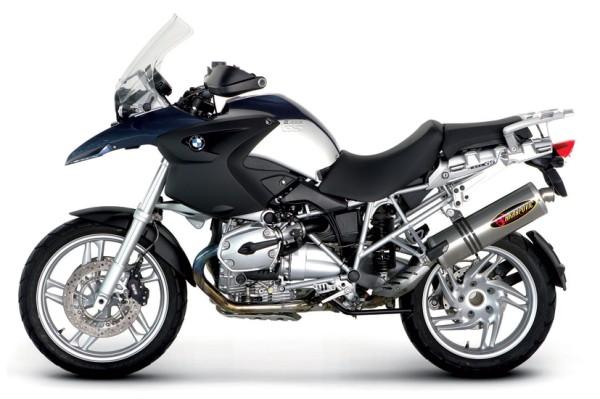 Akrapovic Komplettanlage Titan Racing Linie BMW R 1200 GS / Adventure Bj 04-09