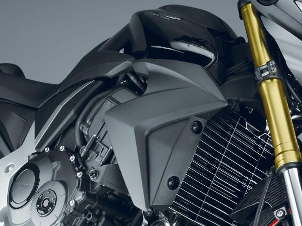 Original Honda CB 1000 R Kühlerverkleidungssatz Matt Schwarz