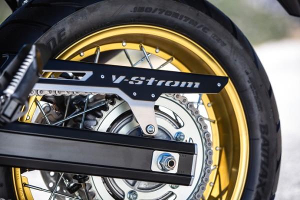 Kettenschutz Aluminium für Suzuki V-Strom 650 BJ. 2017