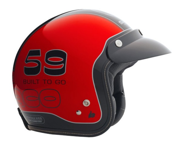Bultaco Helm HERITAGE, Tralla
