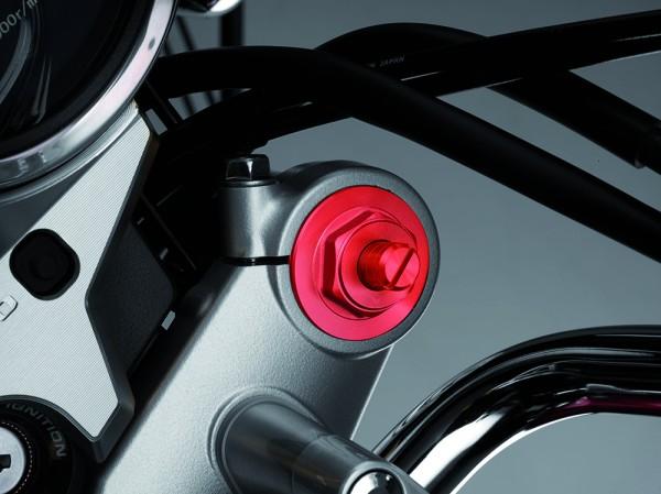 Original Honda CB1100/ CB1100 EX Gabel Verschlussschraubensatz rot