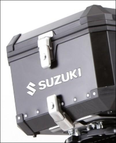 """2 Schlösser - """"Alu Box"""" Top-Case für Suzuki V-Strom 650 BJ. 2012-2016"""