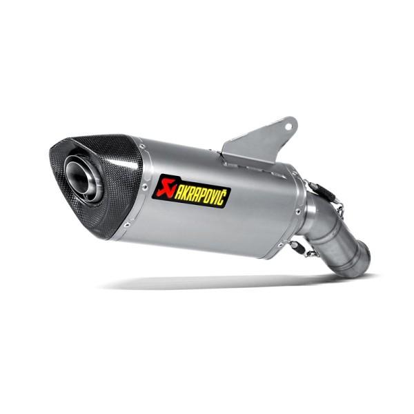 Akrapovic rear silencer Titan Slip-On line Ducati Hypermotard / Hyperstrada year 13-14