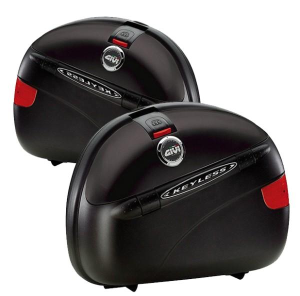 Givi E41 Keyless Monokey® Saddlebag Set black