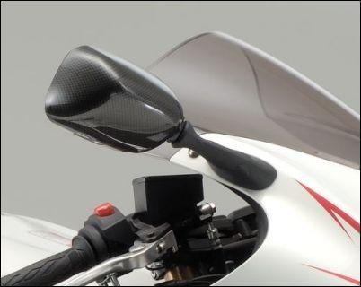 Spiegelabdeckung, Carbon Optik für Suzuki GSX1300R Hayabusa BJ. 2008-2012/ GSX1300R Hayabusa BJ. 201