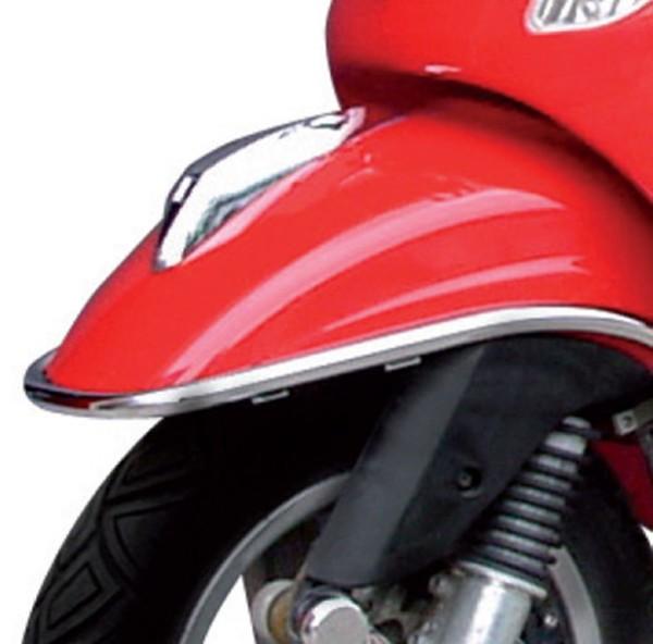 Bumper protection mudguard chrome Vespa S