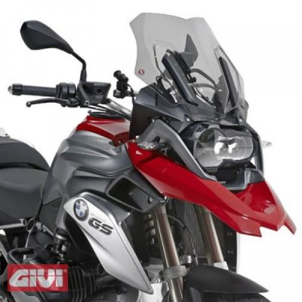 Givi spoiler disc tinted D5108BG - with ABE - BMW R 1200 GS LC year 13 -