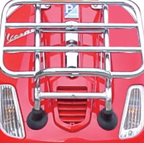 Front folding luggage carrier chrome Vespa S