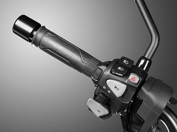 Original Honda NC750X handle heating DCT