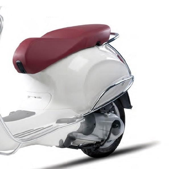 Chromed rear protection bars Vespa Primavera / Sprint / Elettrica
